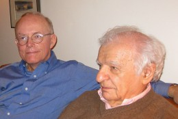 Hoyt Rogers and Yves Bonnefoy