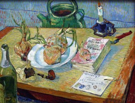 Still Life with a Plate of Onions