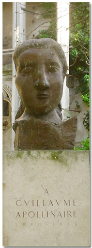 Picasso's Statue of Apollinaire