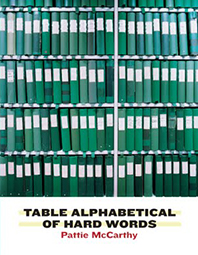 Table Alphabetical of Hard Words